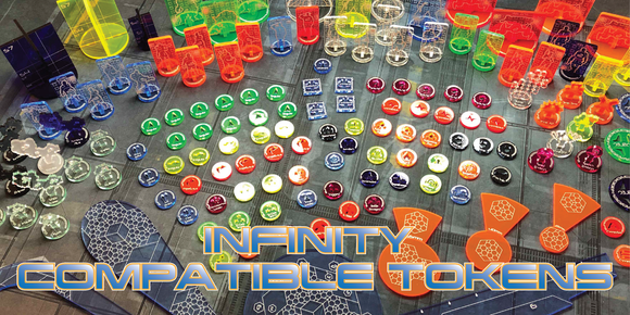 Infinity N3 Tokens - Compatible with Infinity the Game N3