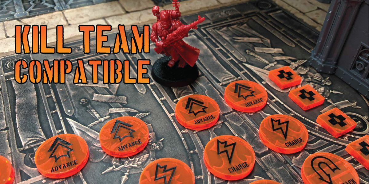 kill team compatible tokens  counters games workshop