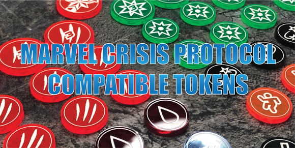 Marvel Crisis Protocol Compatible Tokens