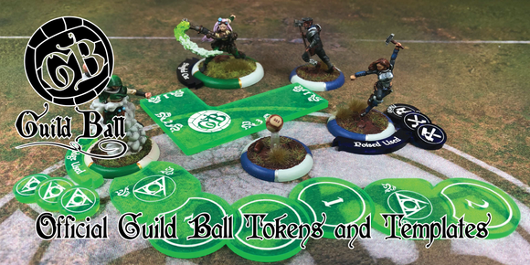 Official Guild Ball Accessories