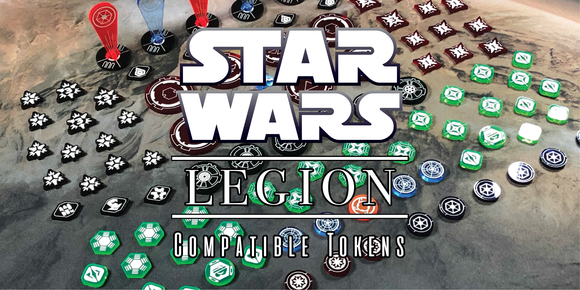 Star Wars Legion - Compatible tokens