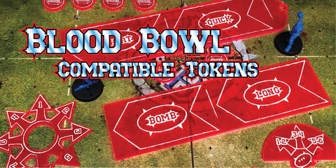 Blood Bowl Compatible Tokens from Art of War Studios