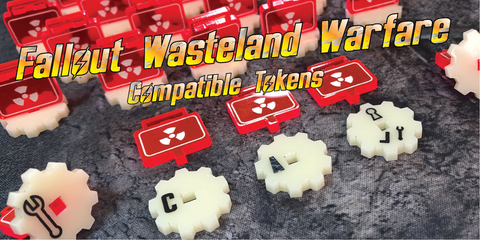 Fallout Tokens from Art of War Studios