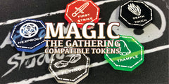 Magic the Gathering markers and tokens