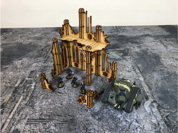 Collapsed Habitus Terrain Set