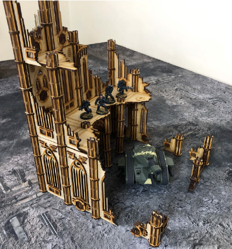 Emperus Hall Terrain Set