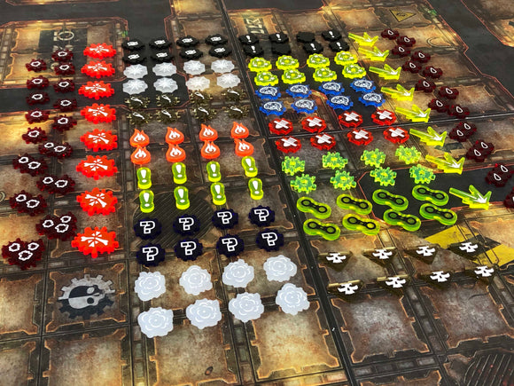 Necromunda Underhive Dark Uprising Tokens and Markers
