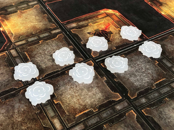 Necromunda Underhive Dark Uprising Tokens and Marker