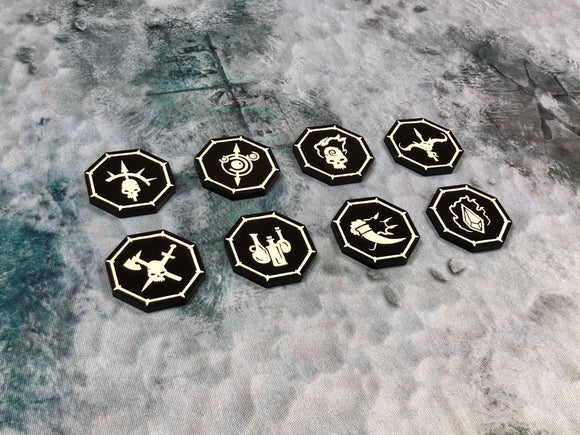 Warcry Tokens and Markers