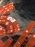 X Wing 2.0 Lothal Rebels Manoeuvre Templates
