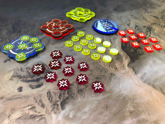 Keyforge Tokens from Art of War Studios