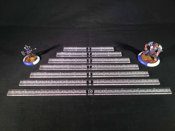Guild Ball Measuring Stick Complete Set