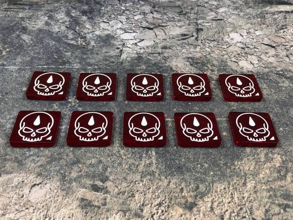 Apocalypse 40K Damage tokens