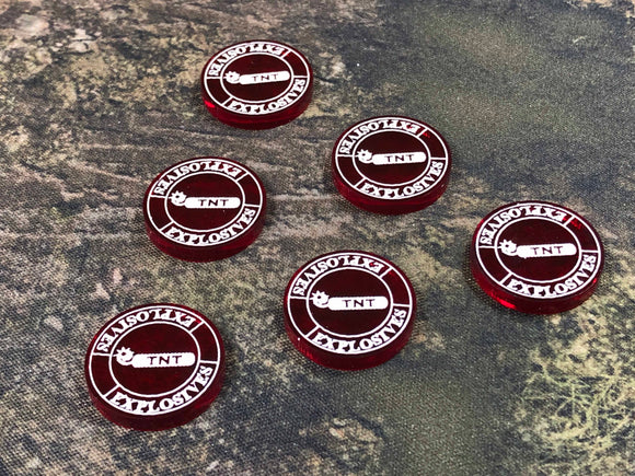 Malifaux M3E Token and Marker set