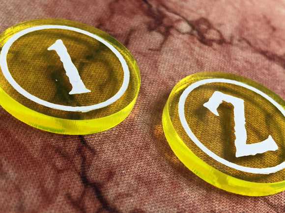 Godtear Champion Tokens from Art of War Studios