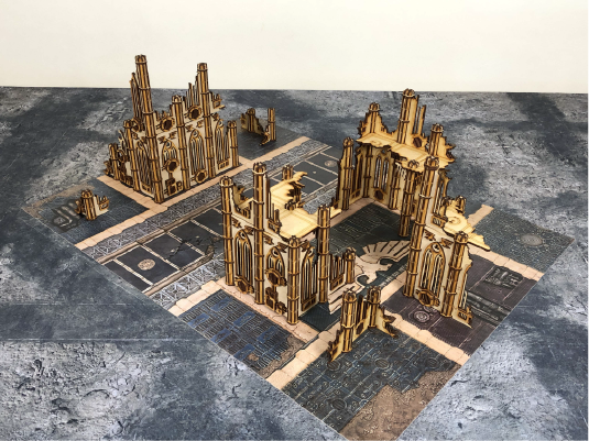 Gothic Ruinous Kill Team Compatible Table Bundle Set