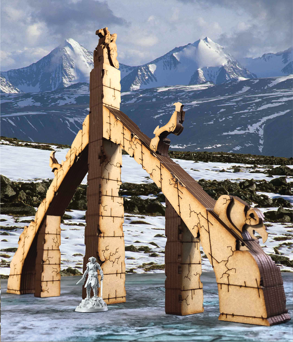 Nordic Archway Call to Arms Elder Scrolls Terrain