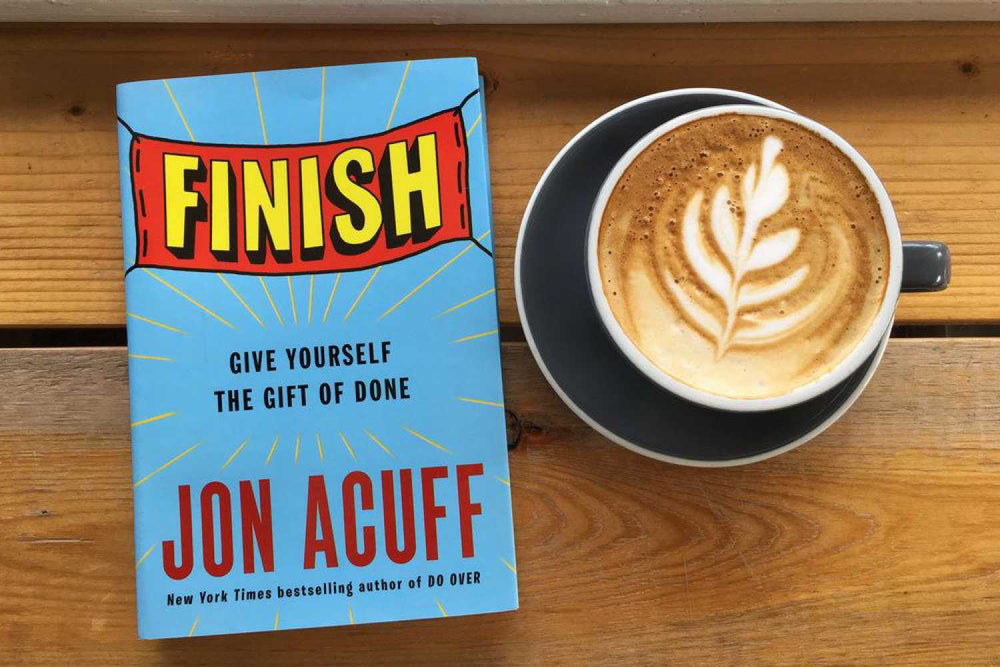 Finish give yourself the gift of done book notes intelligent change finish by jon acuff solutioingenieria Choice Image