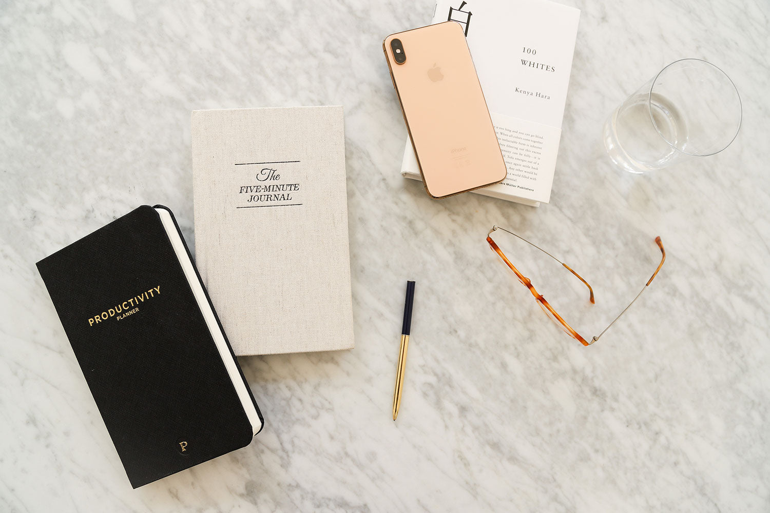 Five Minute Journal and Productivity Planner