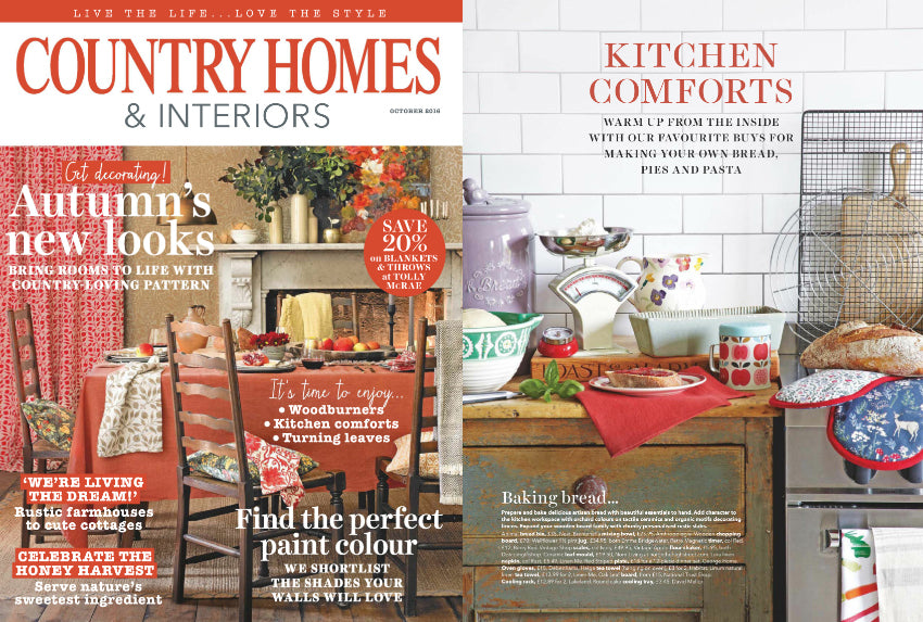 Country Homes & Antiques October 2016 Spread