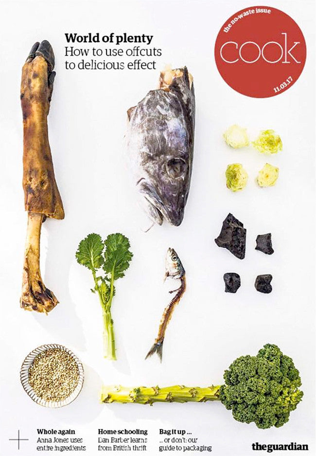 The Guardian Cook Supplement Cover March 2016 No Waste Issue