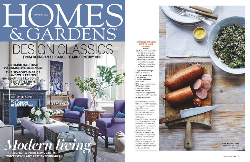 Nom Living Homes & Gardens October 2016 Issue Tableware