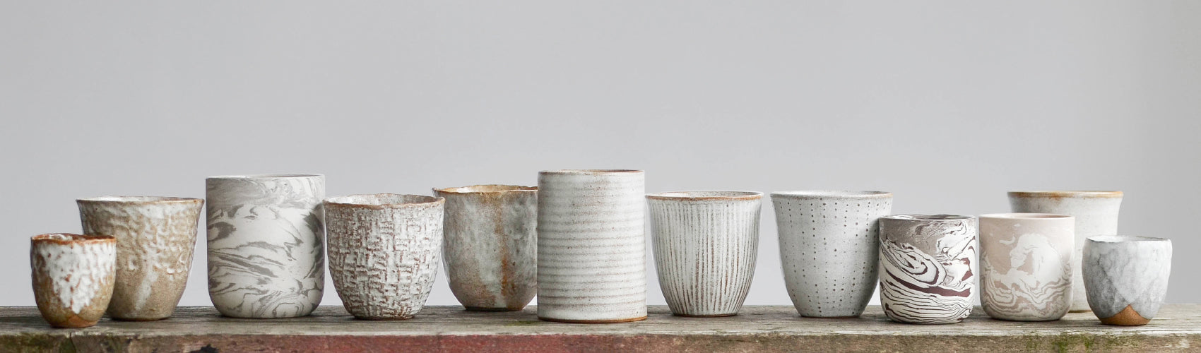 Nom Living Stoneware Mugs and Cups Collection Header Image