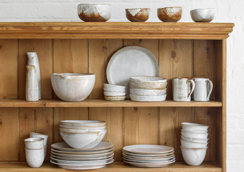 Nom Living Rustic Stoneware Tableware Collection