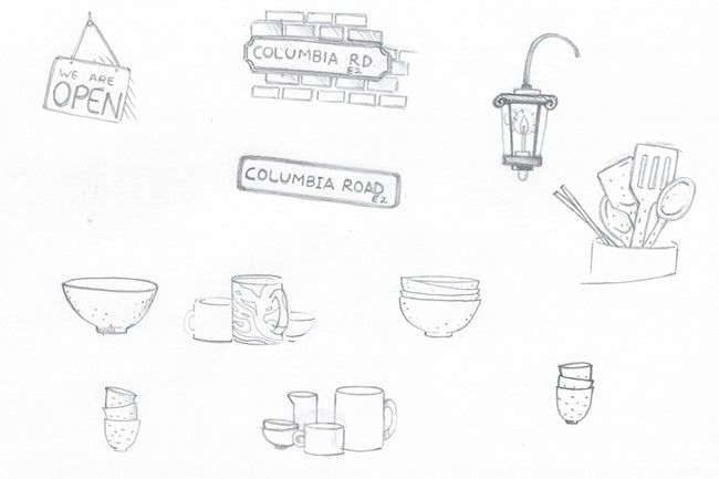 Product Guide Blog Post Rough Sketches