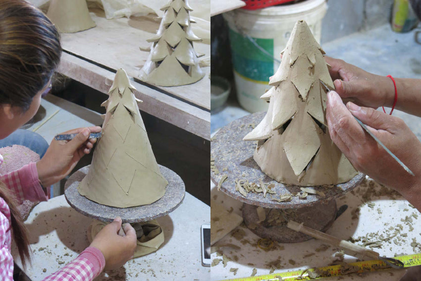 Nom Living Yuko Christmas Tree Making Of Two