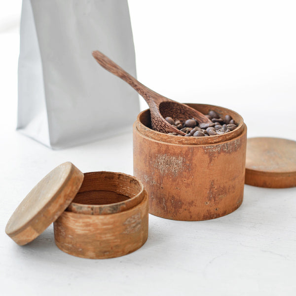 Cinnamon Storage Canister for coffee or sugar - Nom Living