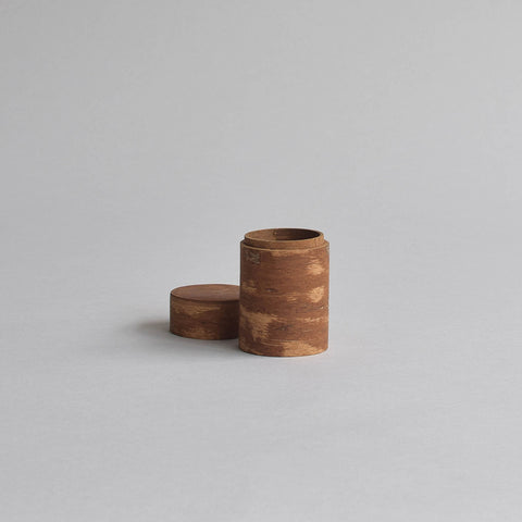 Cinnamon Storage Box, Small Round