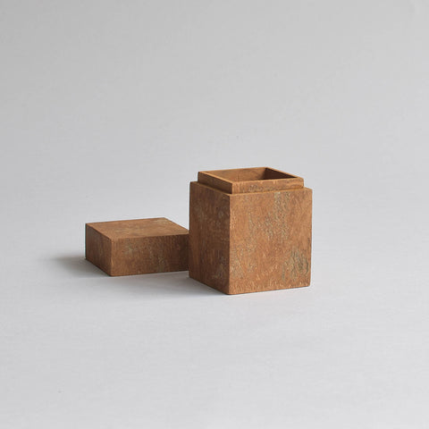 Cinnamon Storage Box, Medium Square