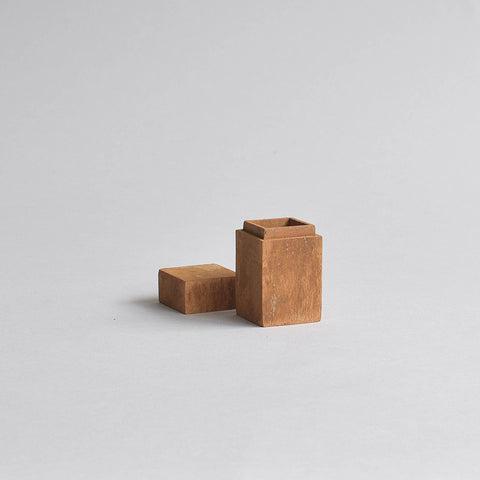 Cinnamon Storage Box, Small Square