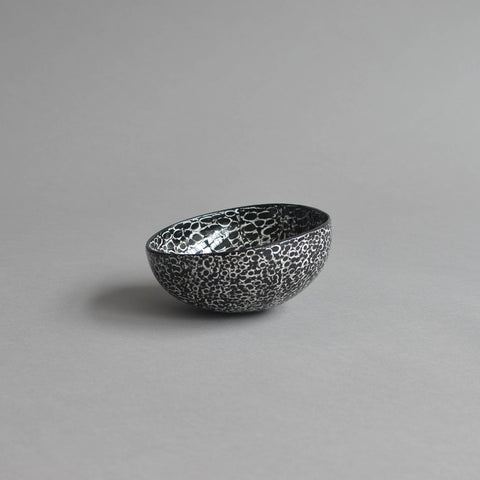 Coco Bowl, Eggshell Black In/Out