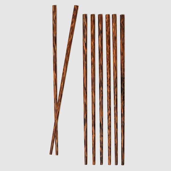 Coconut Wood Chopsticks Set - Nom Living