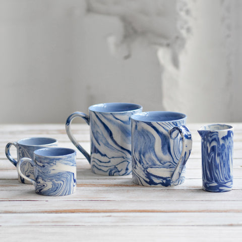 Marbled Tea & Coffee Set