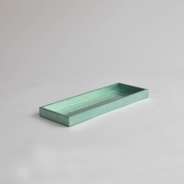 Narrow Tray, Medium Duck Egg Blue
