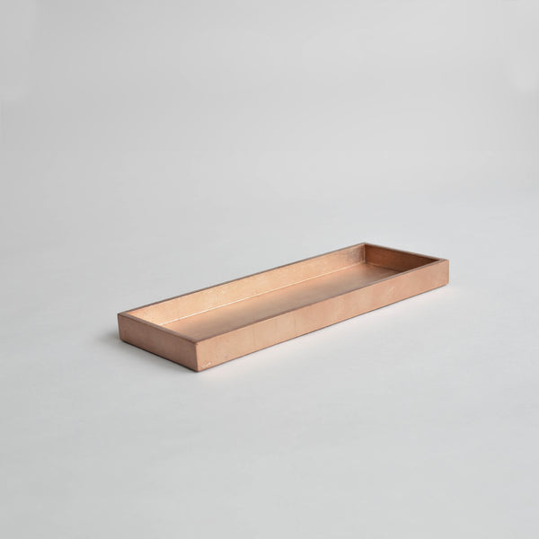 Nom Living Narrow Tray Medium Matt Rose Gold