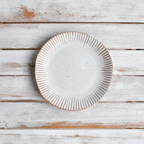 Organic Fluted Side Plate
