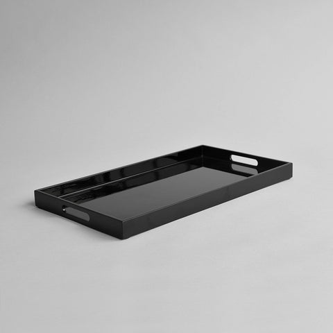 Rectangular Serving Tray, Black