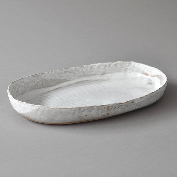Hand Moulded Oval Dish, XL - Nom Living