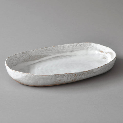 Hand Moulded Oval Dish, XL