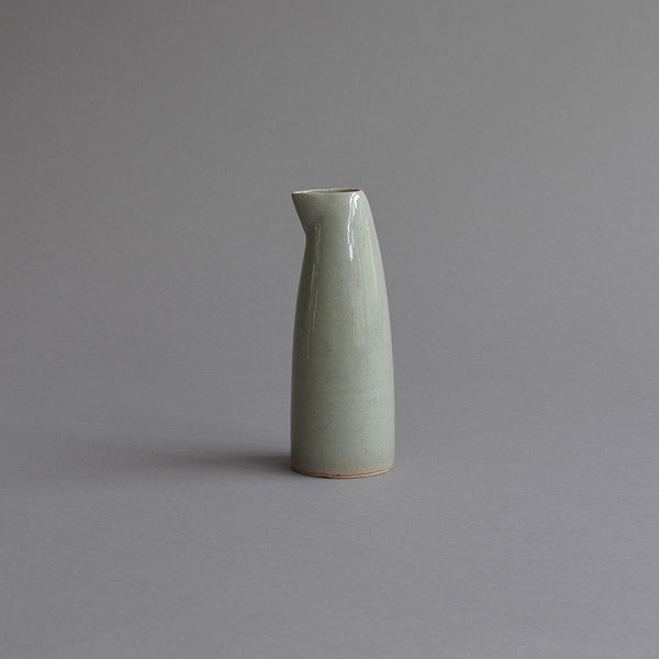 Sake Pouring Jug, Small Celadon Grey - Nom Living