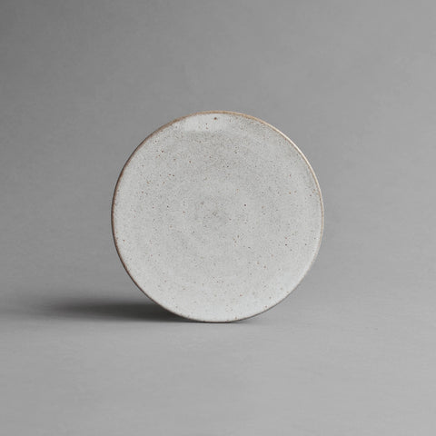 Round Platter, Medium Snow White