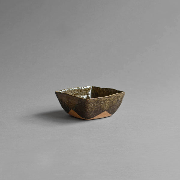 Stoneware Square Bowl, Medium, Green - Nom Living