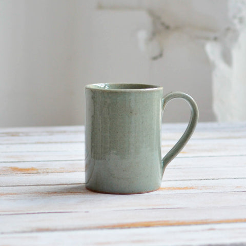 Tea Mug, Celadon Grey