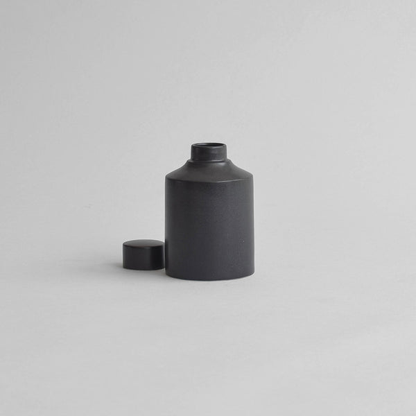 Ritual Jug With Lid, Matt Black