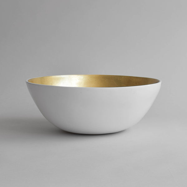 Foot Ritual Bowl, Pale Gold - Nom Living