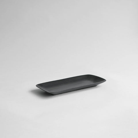Ritual Towel Tray, Medium Matt Black